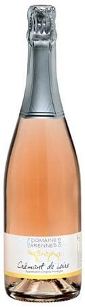 Domaine des Garennes Cremant de Loire Rosé   Frankrijk   gemaakt van de druif: Cabernet Franc