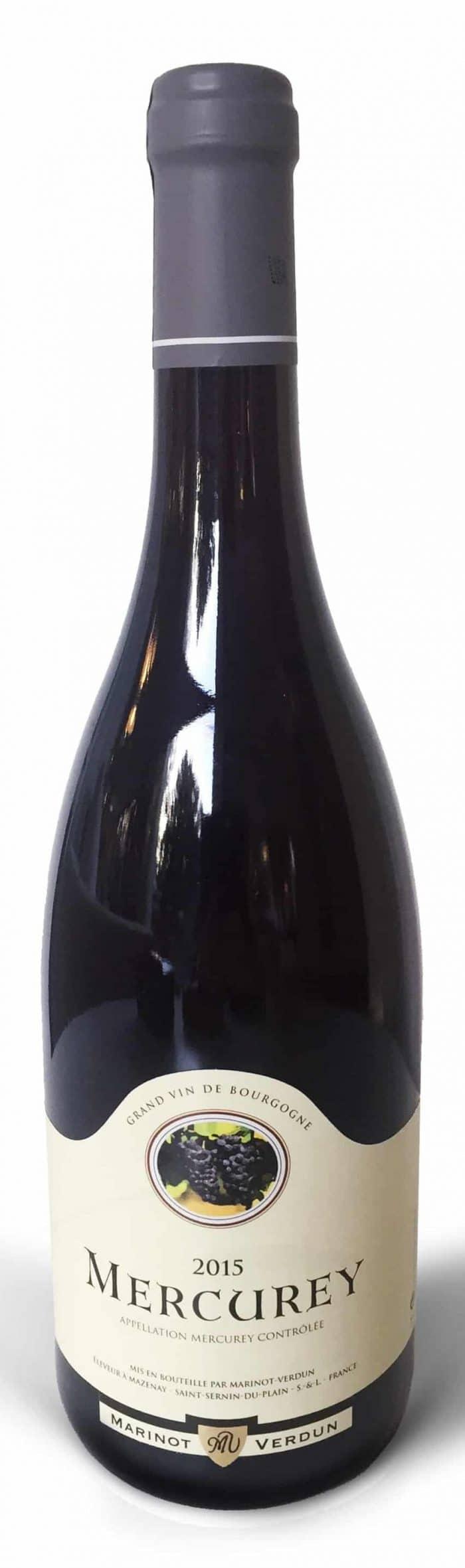 Maison Marinot Verdun Mercurey | Frankrijk | gemaakt van de druif: Pinot Noir