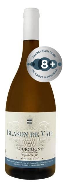 Blason De Vair Bourgogne Chardonnay Clin D'Oeil | Frankrijk | gemaakt van de druif: Chardonnay