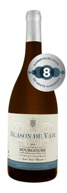 Blason de Vair Bourgogne Pinot Noir St Bernard | Frankrijk | gemaakt van de druif: Pinot Noir
