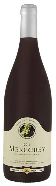 Marinot Verdun Mercurey | Frankrijk | gemaakt van de druif: Pinot Noir