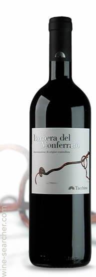 Barbera del Monferrato   Italië   gemaakt van de druif: Barbera