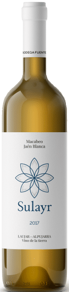 Fuente Victoria Sulayr | Spanje | gemaakt van de druif: jaen blanco, Macabeo, Vijiriega