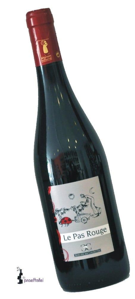 Des Cognettes – Vin de Pays du Val de Loire -Le Pas Rouge- Gamay | Frankrijk | gemaakt van de druif: Gamay