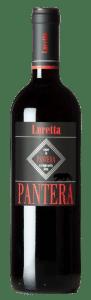 Luretta Rosso dell'Emilia Pantera | Italië | gemaakt van de druif: Barbera, Bonarda, Cabernet Sauvignon