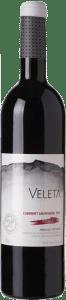 Veleta Cabernet Sauvignon Roble   Spanje   gemaakt van de druif: Cabernet Sauvignon