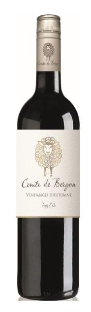 Comte de Bergon Rouge | Frankrijk | gemaakt van de druif: Cinsault, Grenache Noir, Merlot, Syrah