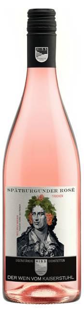 Weingut Hiss Baden Spätburgunder Rosé Trocken | Duitsland | gemaakt van de druif: Pinot Noir