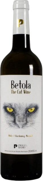 Pio del Ramo Cat wine wit | Spanje | gemaakt van de druif: Chardonnay, moscatel de grano menudo
