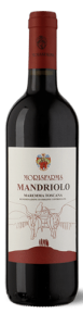 Morisfarms Mandriolo Rosso | Italië | gemaakt van de druif: Cabernet Sauvignon, Petit Verdot, Sangiovese, Syrah