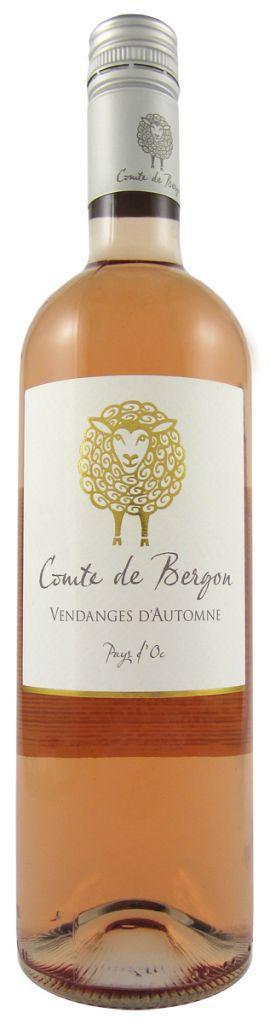 Comte de Bergon, Rosé | Frankrijk | gemaakt van de druif: Cinsault, Grenache Noir