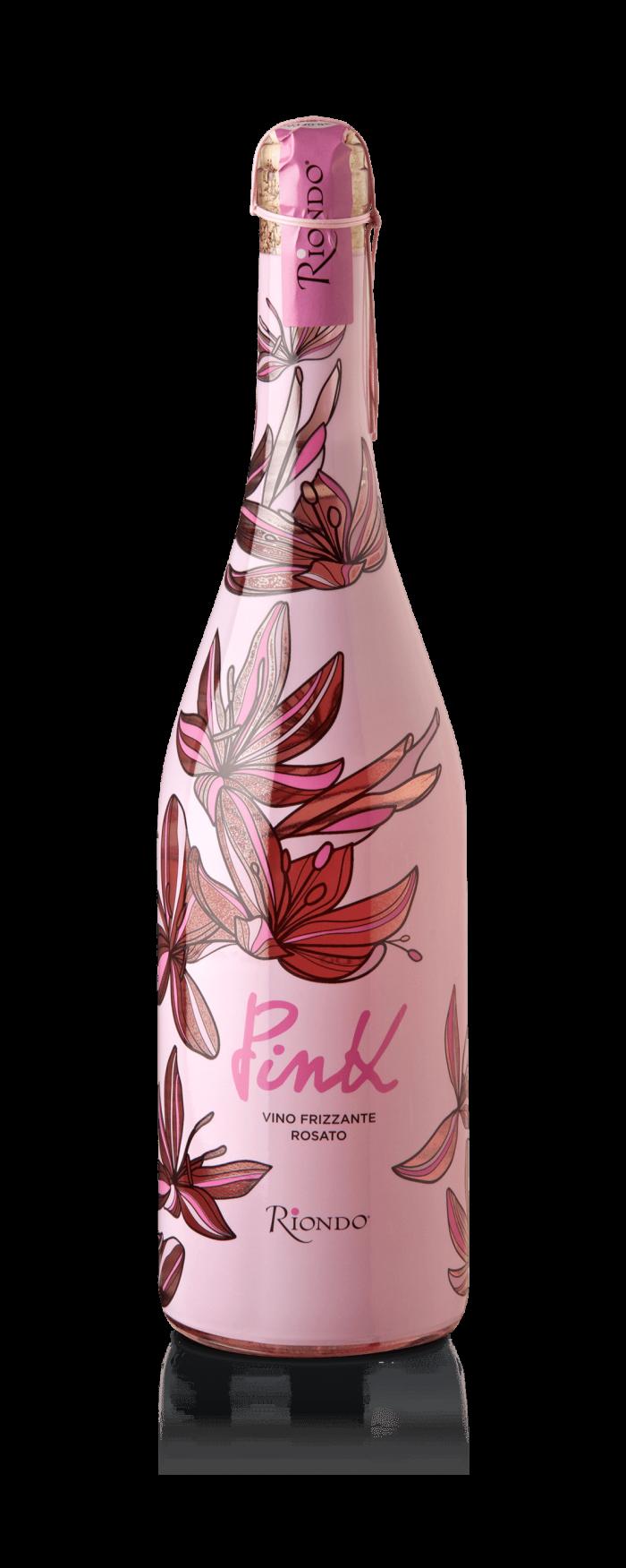 Cantine Riondo Frizzante Pink   Italië   gemaakt van de druif: Prosecco, Raboso