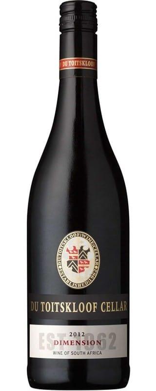 Du Toitskloof Dimension | Zuid-Afrika | gemaakt van de druif: Cabernet Sauvignon, Merlot, Petit Verdot