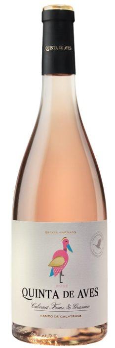 Quinta de Aves rosé | Spanje | gemaakt van de druif: Cabernet Franc, Graciano
