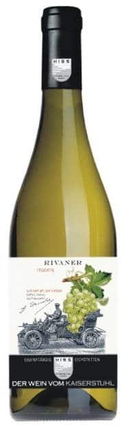 Weingut Hiss – Baden Rivaner Trocken | Duitsland | gemaakt van de druif: Müller-Thurgau