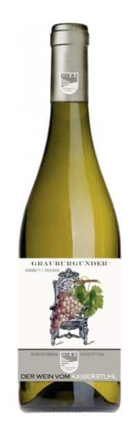 Weingut Hiss – Baden Grauburgunder Kabinett Trocken | Duitsland | gemaakt van de druif: Grauburgunder, Pinot Gris