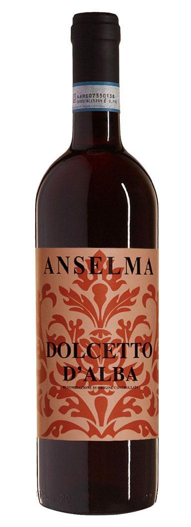 Anselma Giacomo – Dolcetto d'Alba DOC 2017   Italië   gemaakt van de druif: Dolcetto