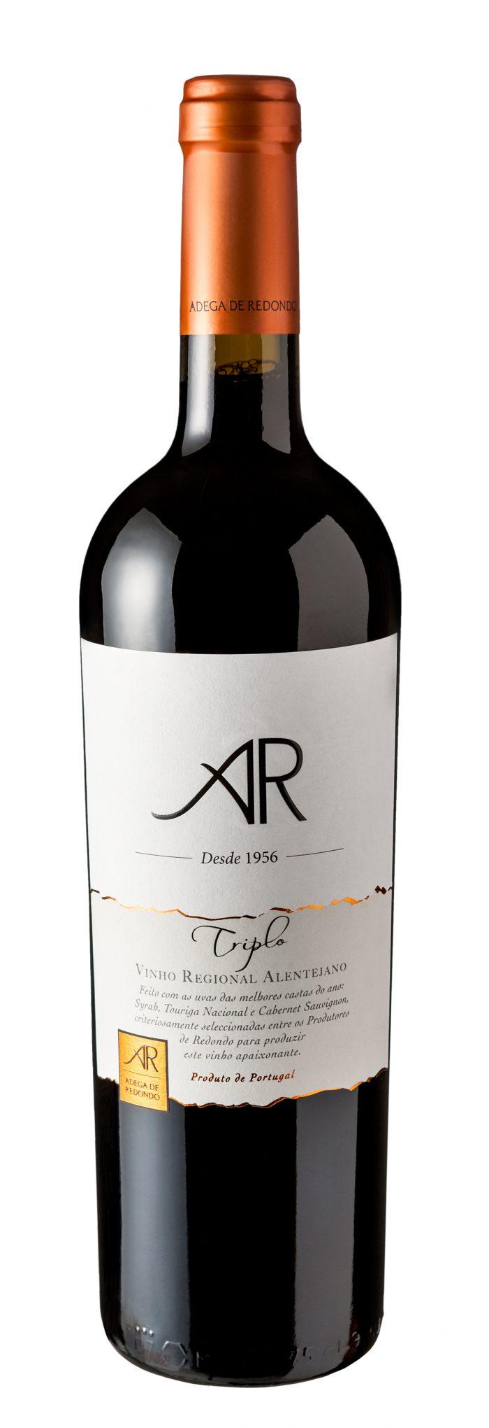 AR Triplo | Portugal | gemaakt van de druif: Cabernet Sauvignon, Shiraz, Touriga Nacional