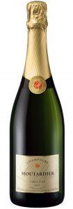 Champagne Moutardier – Carte d'Or Brut 75cl | Frankrijk | gemaakt van de druif: Chardonnay, Pinot Meunier