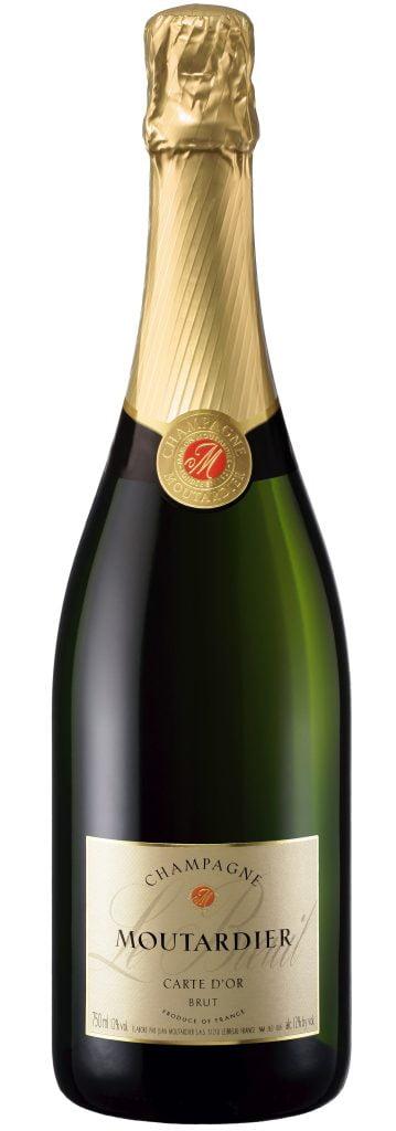 Champagne Moutardier – Carte d'Or Brut 75cl | Smaak: rijp en fruitig | Gemaakt van de druif: Chardonnay, Pinot Meunier | Land: Frankrijk
