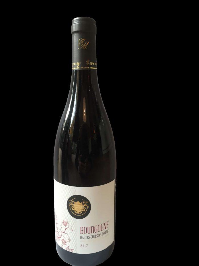 Hautes Cotes de Beaune Rouge 2017   Frankrijk   gemaakt van de druif: Pinot Noir