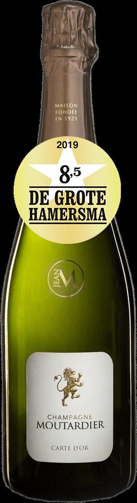 Champagne Moutardier Carte d'Or Brut | Frankrijk | gemaakt van de druif: Chardonnay, Pinot Meunier