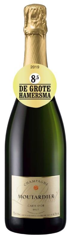 Champagne Moutardier – Carte d'Or Brut 37,5cl | Frankrijk | gemaakt van de druif: Chardonnay, Meunier