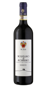 Morellino di Scansano DOCG | Italië | gemaakt van de druif: Merlot, Sangiovese, Syrah