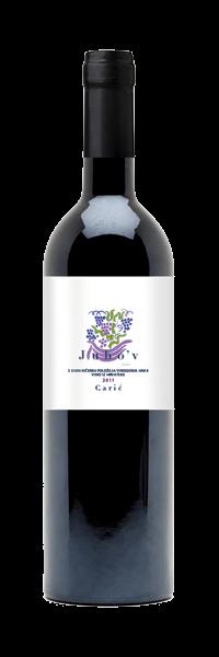 Vina Carić Jubo'v Cuvee | Kroatië | gemaakt van de druif: Cabernet Sauvignon, Merlot, Plavac Mali, Syrah
