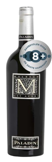 Paladin Malbech Gli Aceri   Italië   gemaakt van de druif: Malbec