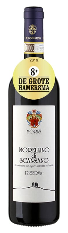 Morellino di Scansano Riserva | Italië | gemaakt van de druif: Merlot, Sangiovese, Syrah