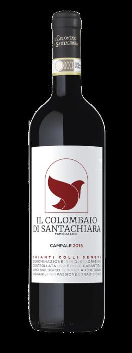 Il Colombaio di Santa Chiara Campale Chianti bio | Italië | gemaakt van de druif: Merlot, Sangiovese
