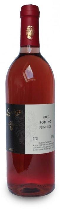 Loescher Rotling Feinherb | Duitsland | gemaakt van de druif: Pinot Noir