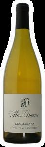 Mas Granier Les Marnes | Frankrijk | gemaakt van de druif: Grenache Blanc, Roussanne, Viognier