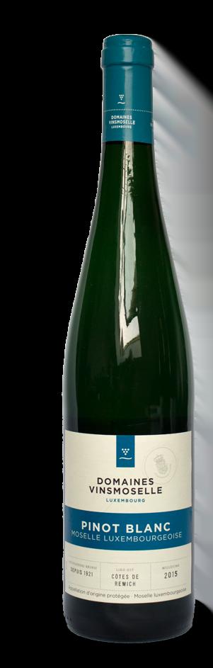 Vinsmoselle Pinot Blanc AOP | Luxemburg | gemaakt van de druif: Pinot Blanc