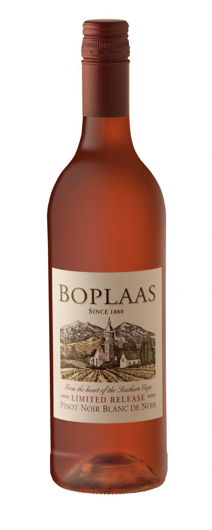 Boplaas Blanc de Noir Rosé | Zuid-Afrika | gemaakt van de druif: Pinot Noir