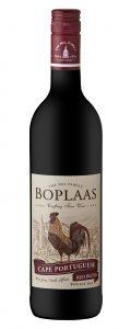Boplaas Cape Portuguese Red | Zuid-Afrika | gemaakt van de druif: Shiraz, Tinta Barroca, Touriga Franca