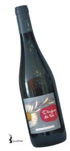 Des Cognettes – Val de Loire I.G.P. -Dingue de Toi-   Frankrijk   gemaakt van de druif: sauvignon gris
