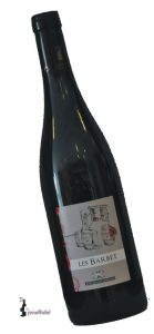 Des Cognettes, Vin de Pays du Val de Loire I.G.P. Les Barbet   Frankrijk   gemaakt van de druif: Cabernet Franc, Cabernet Sauvignon