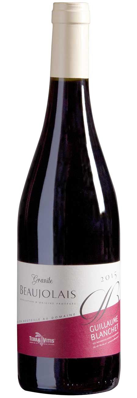 Granite, Guillaume Blanchet, Beaujolais | Frankrijk | gemaakt van de druif: Gamay
