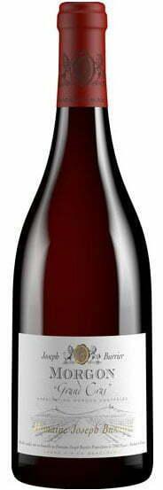 Joseph Burrier Morgon Grand Cras   Frankrijk   gemaakt van de druif: Gamay