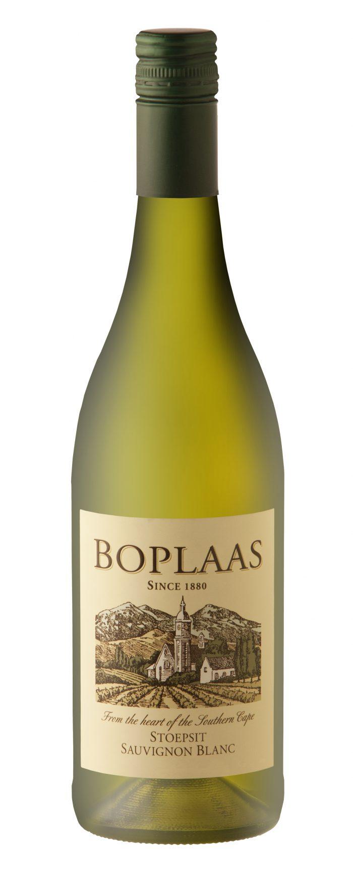Boplaas 'Stoepsit'  Sauvignon Blanc | Zuid-Afrika | gemaakt van de druif: Sauvignon Blanc