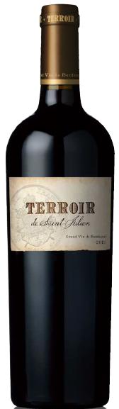 Terroir st. Julien | Frankrijk | gemaakt van de druif: Cabernet Franc, Cabernet Sauvignon, Merlot