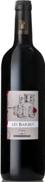 Des Cognettes – Val de Loire – Les Barbet (bio)   Frankrijk   gemaakt van de druif: Cabernet Franc, Cabernet Sauvignon