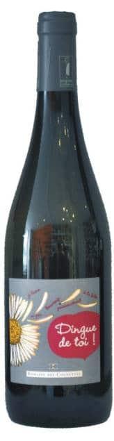Des Cognettes – Val de Loire I.G.P. -Dingue de Toi (bio)   Frankrijk   gemaakt van de druif: sauvignon gris