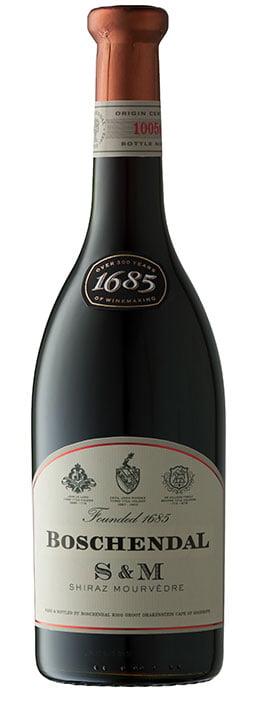 Boschendal 1685 S&M | Zuid-Afrika | gemaakt van de druif: Mourvèdre, Shiraz
