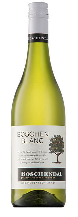 Boschendal Boschenblanc | Zuid-Afrika | gemaakt van de druif: Chardonnay, Chenin Blanc, Sauvignon Blanc