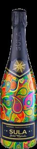 Domaine des Garennes Cremant de Loire Blanc | India | gemaakt van de druif: Chardonnay, Chenin Blanc, Pinot Noir, Syrah