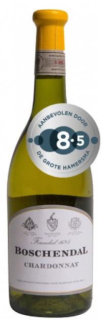 Boschendal 1685 Chardonnay   Zuid-Afrika   gemaakt van de druif: Chardonnay