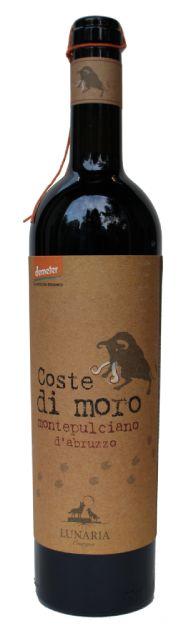 Lunaria Coste di Moro Montepulciano Bio | Italië | gemaakt van de druif: Montepulciano